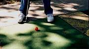 Minigolf im Ostpark